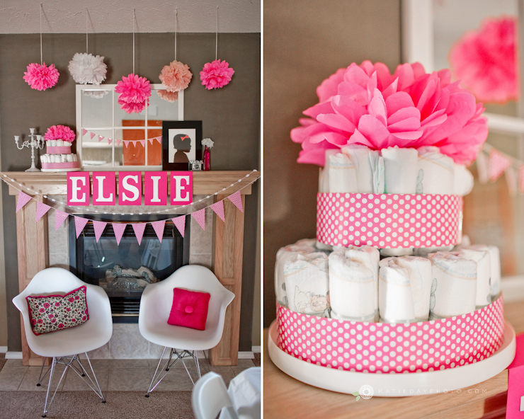 Allison s ready to pop a baby shower for elsie ruth for Baby shower decoration photos
